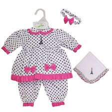 "Molly P. Apparel 13"" Elise Doll Ensemble"
