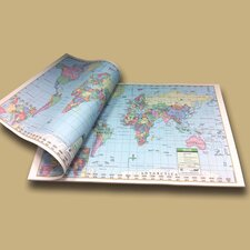World Study Map Pad