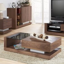 Cube Coffee Table with Concealed Drawer