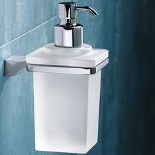 Glamour Wall Mounted Soap Dispenser in Chrome