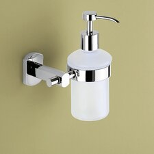 Edera Soap Dispenser in Chrome