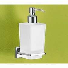Colorado Soap Dispenser with Frosted Glass Container