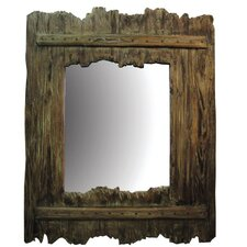 Large Driftwood Mirror*