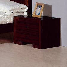 Alpha 2 Drawer Nightstand