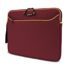 "14.1"" Red / Gold SlipSuit Neoprene Laptop Sleeve"