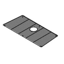 "Trapezoid 31"" x 15"" Electropolished Grid for 32''x16'' Sink Bowl"