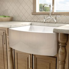 "F110 23.5"" x 21"" Farmhouse Single Bowl Kitchen Sink"