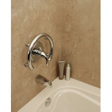Invisia Accent Ring Support Rail and Hand Towel Holder