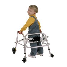 Small Child's Walker with Silent Wheels & Legs