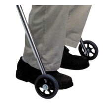 Front Legs Wheels for Large Walker with Built in Seat (Set of 2)