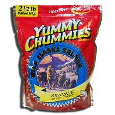 "11.5"" Yummy Chummies Original Salmon Soft N' Chewy Value Pack Dog Treat"