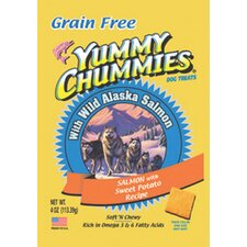 Yummy Chummies Salmon and Sweet Potato Grain Free Dog Treat