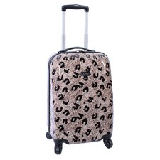"Leopard 20"" Upright Spinner Suitcase"