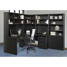 Pro X - L-Shape Corner Workstation Desk Office Suite