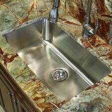 "30"" x 18"" Elongated Single Bowl Undermount Kitchen Sink"