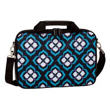 "Chloe Dao 15.6""  Lotus Laptop Attache in Black/White/Blue/Purple"