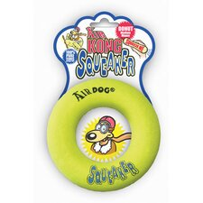 Large Air Squeaker Donut Dog Toy
