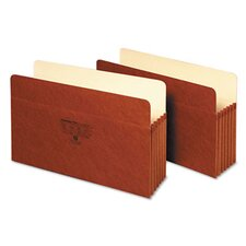 5 in Expansion Accordion Pocket, Straight, Manila/Redrope, Letter, Brown