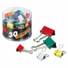 Binder Clips, 30/Pack