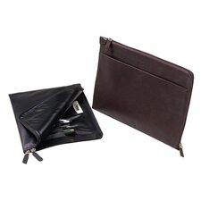 Buffalo Napa Leather Slim Underarm Portfolio