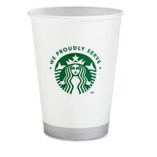 Compostable Cup, 12 oz. 1000 per Carton, White