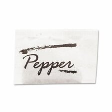 Pepper Packets, 3 Boxes/Carton