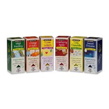 Assorted Tea Packs, 168/Carton