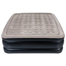Sharper Image Queen Accessory Pocket Raised Air Bed