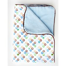 Boutique Star Dot Piped Blanket