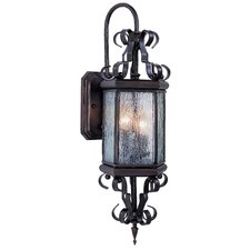 Vintage 3 Light Wall Lantern