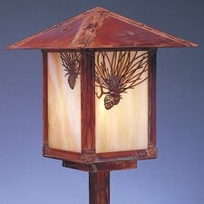 "Evergreen 1 Light 21.5"" Outdoor Post Lantern"