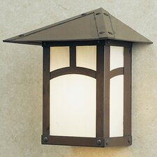 Evergreen 1 Light Outdoor Wall Sconce