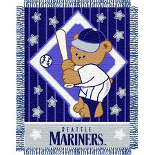 MLB Baby Jacquard Throw