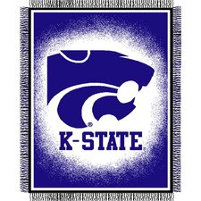 NCAA Triple Woven Jacquard Throw