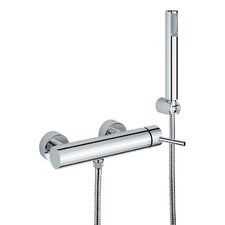 Linea Wall Mount Single Lever Volume Control Hand Shower Set