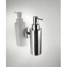 "Duemilla 11"" Wall-Mount Soap Dispenser in Polished Chrome"