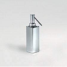 "Complements 2"" x 2"" Metric Free Standing Soap Dispenser in Stainless Steel"