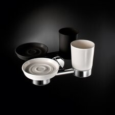 Napie Wall-mount Tumbler and Soap Dish