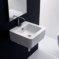 Kerasan Ego Wall Mounted / Vessel Bathroom Sink