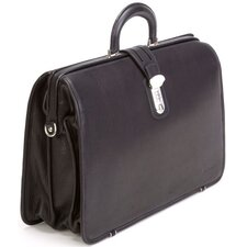"Framed 17"" Laptop Brief Bag"