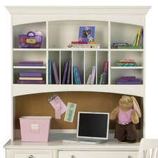 Pawsitively Yours Desk Hutch in Vanilla