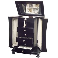 Layla Jewelry Box with Necklace Doors in Java
