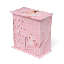 Callie Girl's Musical Ballerina Jewelry Box
