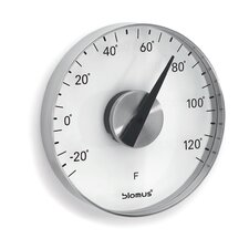 Grado Wall Thermometer in Fahrenheit by Flöz Design