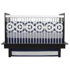 Wheels 3 Piece Crib Bedding Set