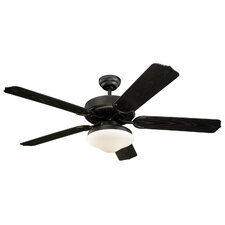 "52"" Weatherford Deluxe 5 Blade Outdoor Ceiling Fan"