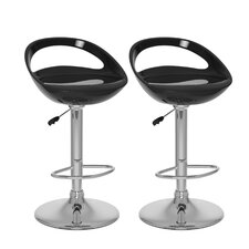 CorLiving Open Back Adjustable Barstool (Set of 2)