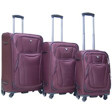 Barclay 3 Piece Expandable Luggage Set