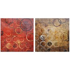 Hendley Canvas Wall Art (Set of 2)