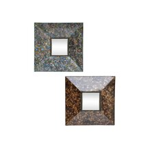 Goldstone Wall Sculpture (Set of 2)